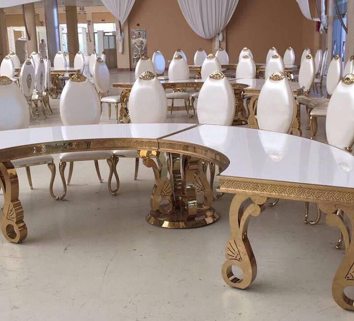 Halfmoon VIP Table