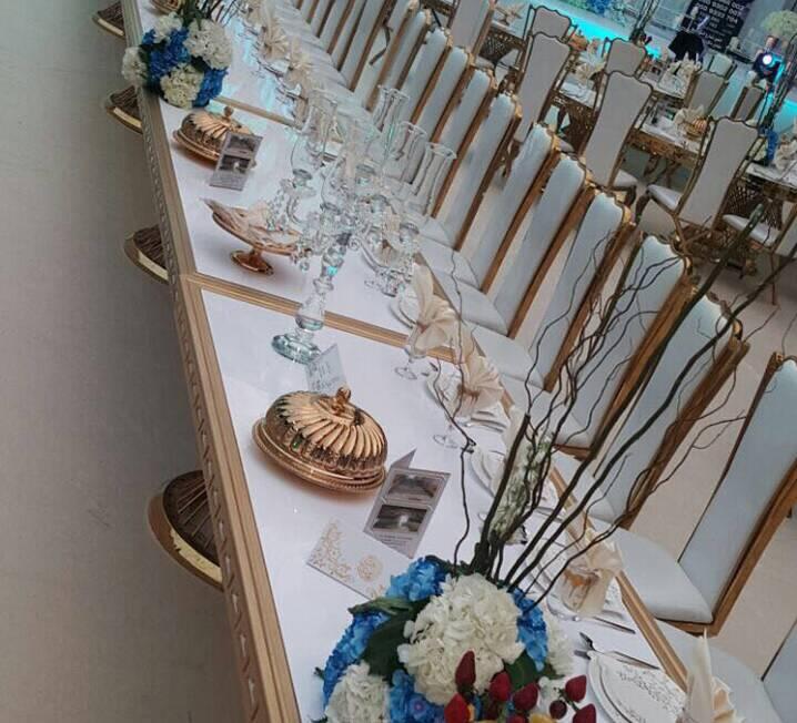 Rectangular Goldust Table