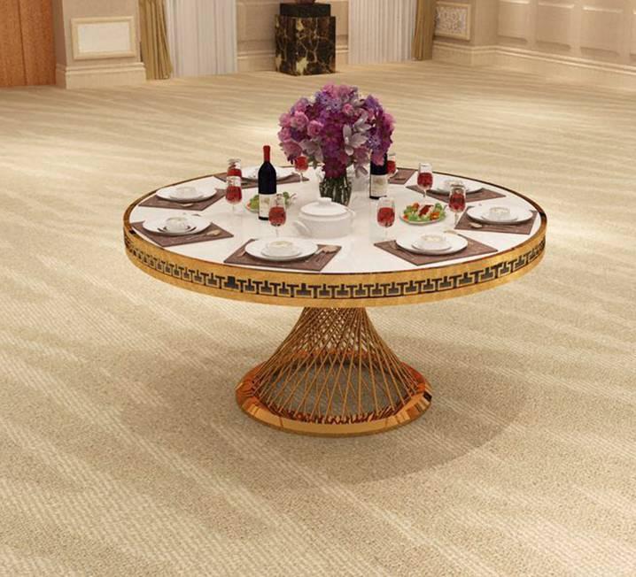 Round Goldust Table