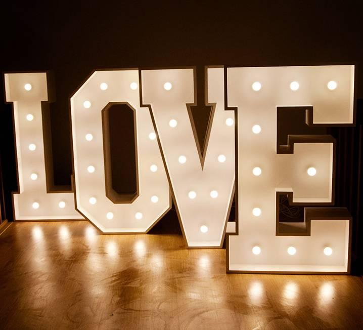 Love Lit Letters