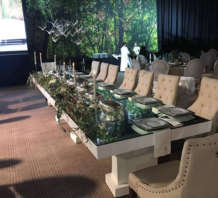 Rectangular White Table
