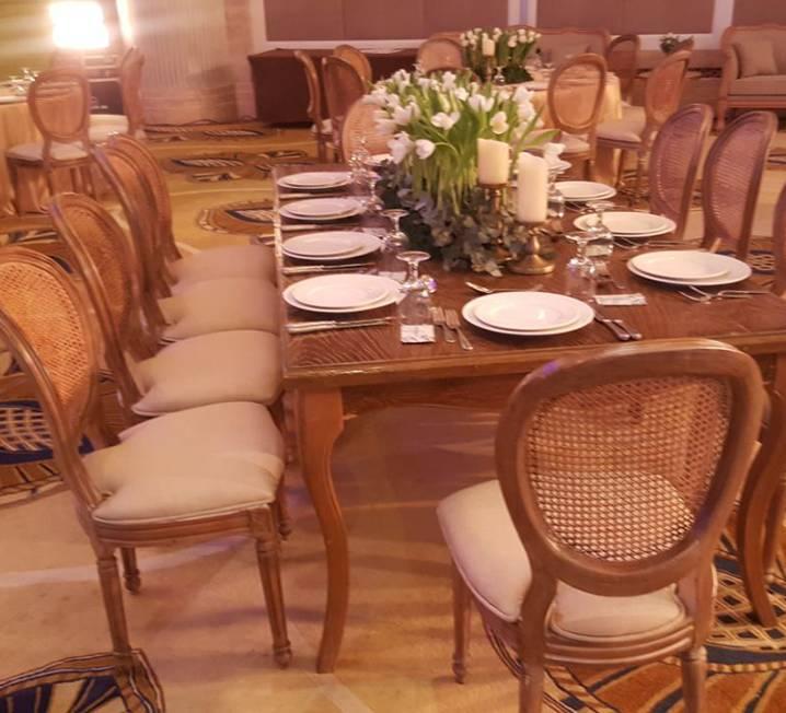 Rectangular Wooden Table