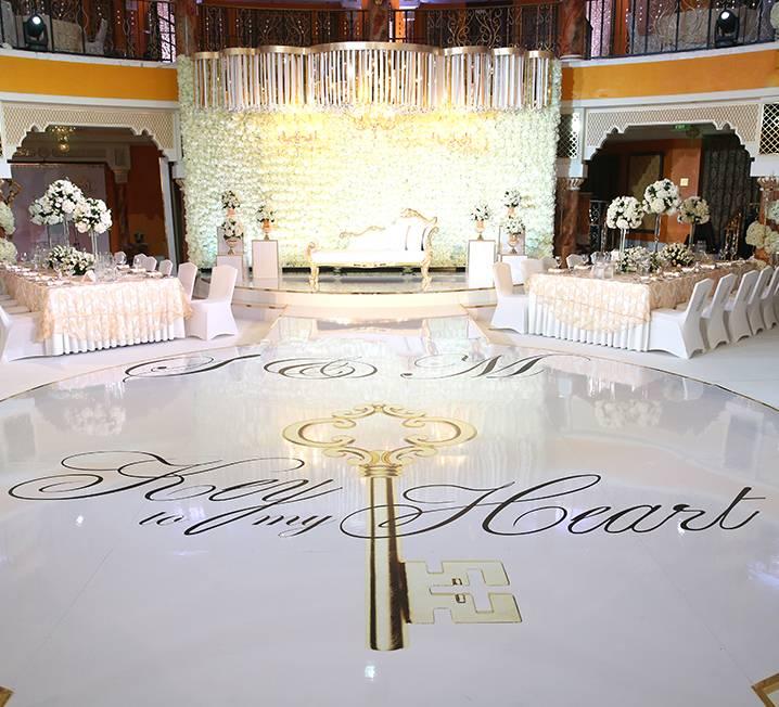 Round Acrylic Dance Floor